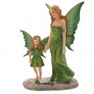 Fairy Walking with Child av Lisa Parker 22 cm thumbnail