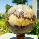 Septarian Dragon Egg kule 1600 gram, 107 mm thumbnail