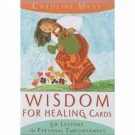 Wisdom For Healing Oracle kort av Caroline Myss thumbnail