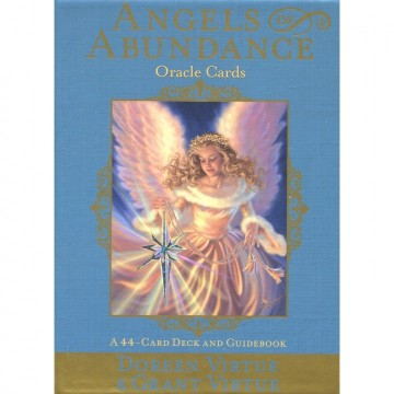 Angels of Abundance Orakel kort engelske av Doreen Virtue