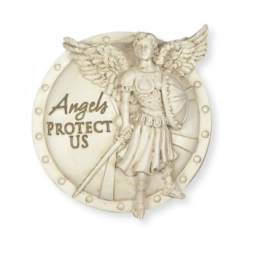 Protect Us Archangel Michael Visor Clip