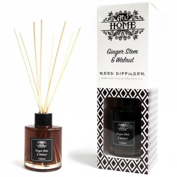 Reed Diffuser - Ginger Stem & Walnut
