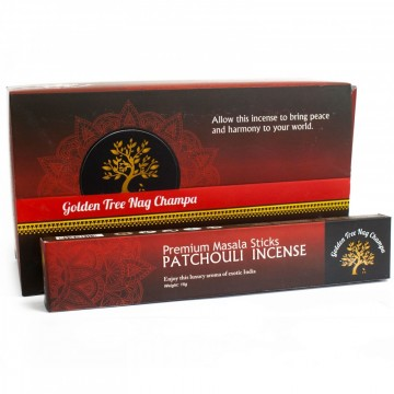 Golden Tree Nag Champa, Patchouli