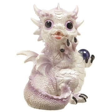 Winter Warrior Dragon - Mystical Dream 16 cm