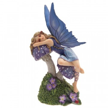 Fairy Sleeping on a Toadstool av Lisa Parker 22 cm