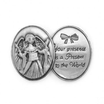 AngelStar Inspirational Token - Your Presence is a Present to the World