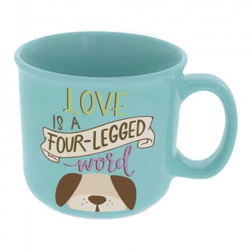 Krus, Pawsitive Inspiration, Love Four-Legged Word, 0,4 liter