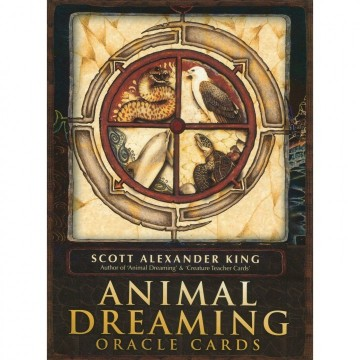 Animal Dreaming Orakel kort engelske av Scott Alexander King