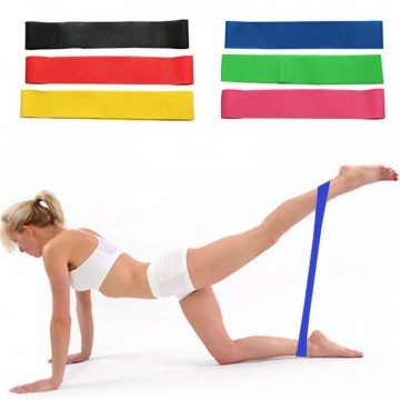 Yoga strikk elastisk gul 1,3 mm, 20,0-22,0 kilo