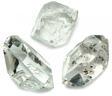 Herkimer Diamant (USA) 15-25 mm AAA kvalitet