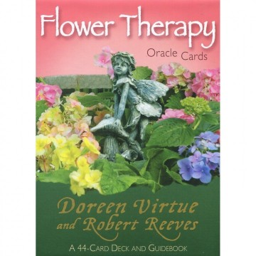 Flower Therapy Orakel kort engelske av Doreen Virtue