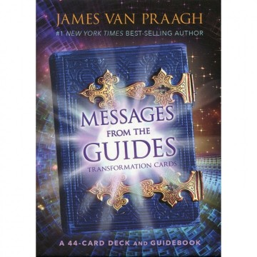 Messages From the Guides Orakel kort engelske av James Van Praagh