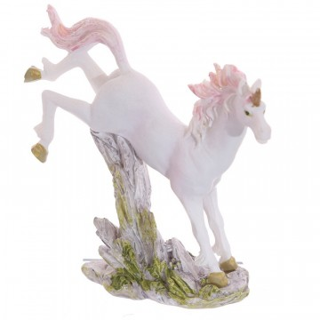 Small Unicorn on Rocks Decoration - A, 6 cm
