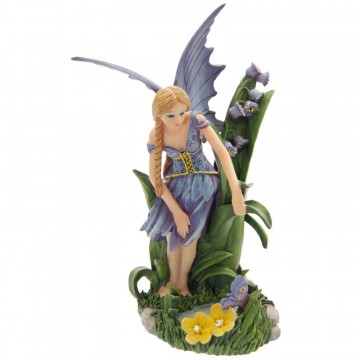 Fairy with Bluebells and Pool av Lisa Parker 26 cm