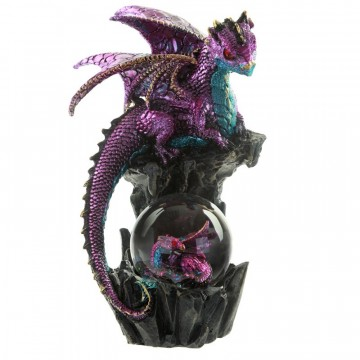 Enchanted Nightmare Dragon - Seer of the Past and Future, lilla 21 cm