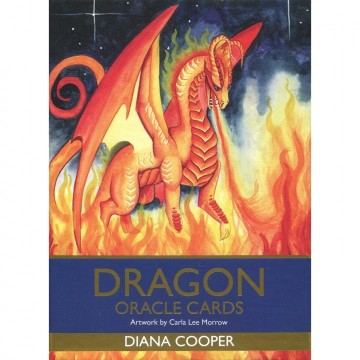 Dragon oracle kort av Diana Cooper