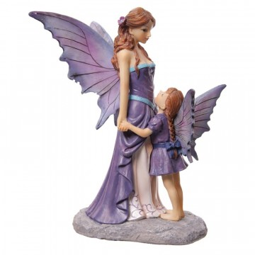 Fairy Standing with Child av Lisa Parker 21 cm