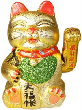 Lucky Cat Happy 17,5 cm