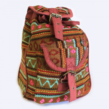 Small Nepali Backpacks - Oliven