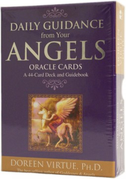 Daily Guidance From Your Angels Oracle kort av Doreen Virtue