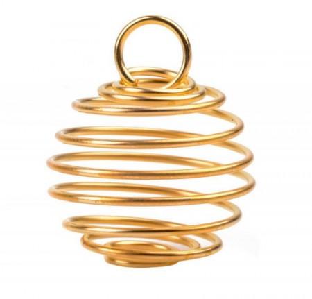 Spiralbur for krystaller